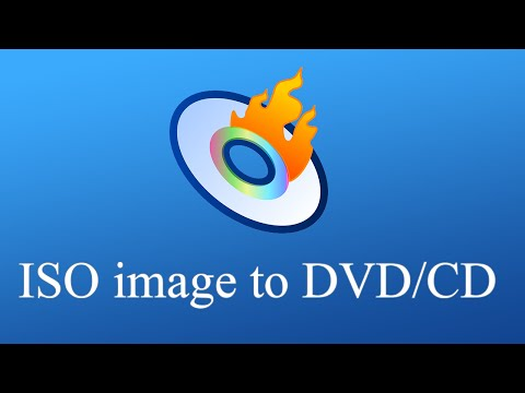 Windows 10/8 ~ How to burn ISO image to cd/dvd ~