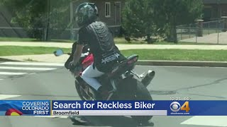 Police Searching For 'Dangerous' Motorcyclist