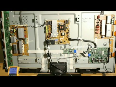 How to Repair No Power on Samsung TV PN51D450 PN51D550 PN51D530 PN51D430 PN51D490 51