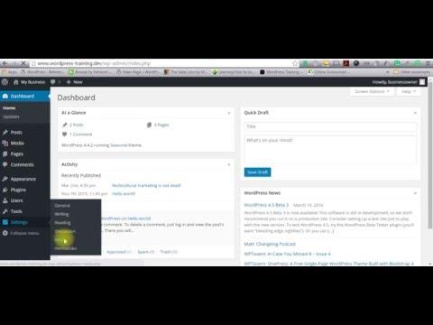 WordPress Tutorial Changing  Default Image Sizes
