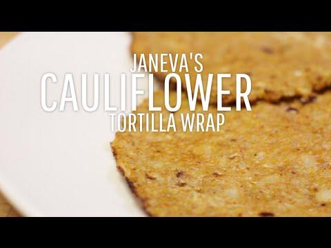 Cauliflower Tortilla Wrap - Low-Carb Tortilla Recipe!