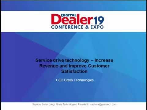 Service Drive Technology -Increase Revenue & Improve Customer Satisfaction