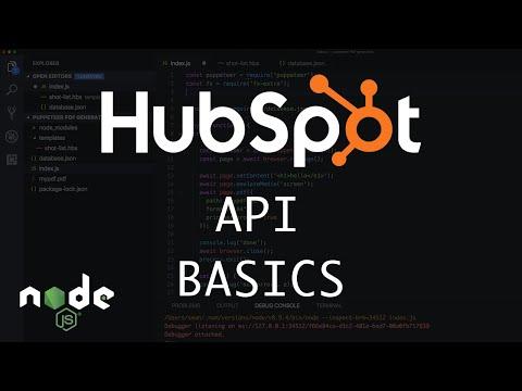 NodeJS Hubspot API Basics (Owners & Deals API)