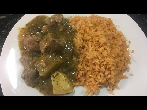 Pork Chile Verde with Potatoes