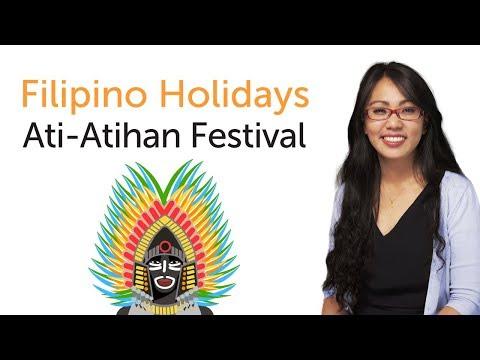 Learn Filipino Holidays - Ati-Atihan Festival