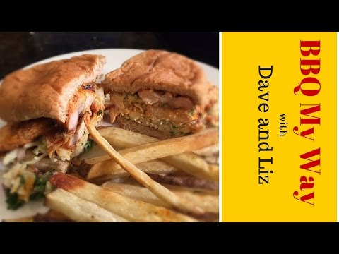 Buffalo Chicken Sandwich Recipe - Grilled and the Best!