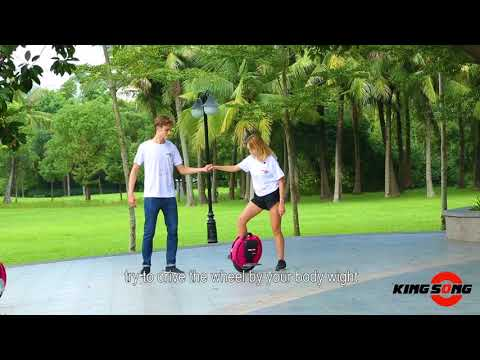 How to ride electric unicycle, #KingSong Tutorial video in English subtitle