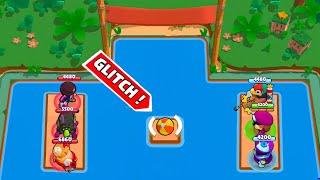 NEW GLITCH BALL MAP!!!Brawl Stars Funny Moments & Glitches & Fails #366