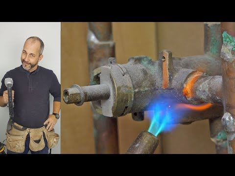 DIY  How To Install a New Shower Valve From Copper to Brass