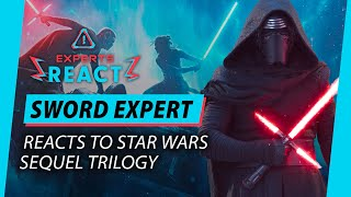 Sword Expert Reacts To Star Wars Sequel Trilogy | Lightsaber Fight Scenes