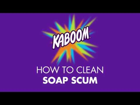 How to Clean Soap Scum with Kaboom!