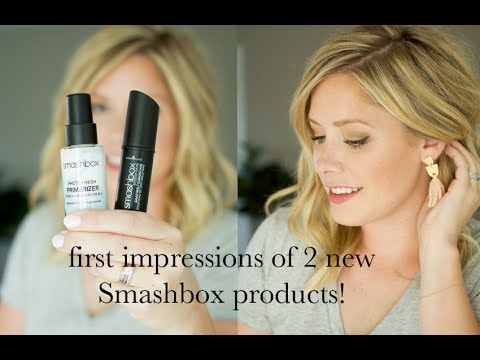 First Impressions: 2 new products from Smashbox