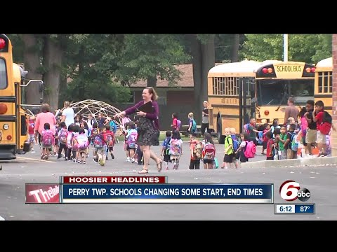 Perry Township adjusts school start, end times due to enrollment increase