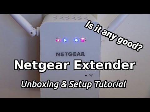 Netgear Extender AC750 Unboxing!