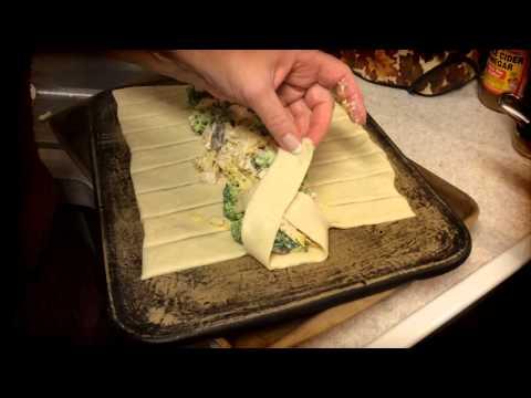 Pampered Living - Chicken Broccoli Braid