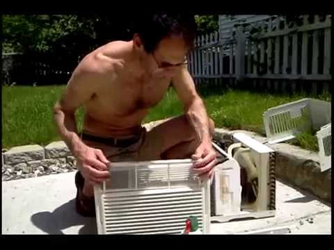 Window AC Air Conditioner Maintenance: Mold Mildew Smell Breathing Problems