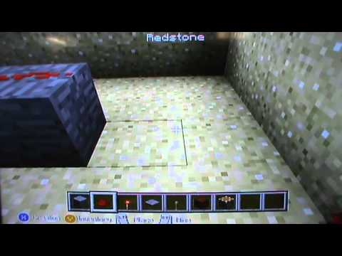 Minecraft how to make a security system XBOX 360