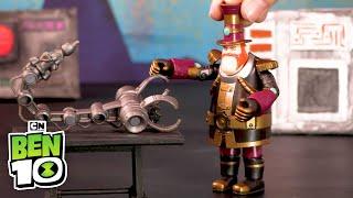 Ben 10 UPGRADE in Smythe's Latest Invention! | Ben 10 Toys | Cartoon Network