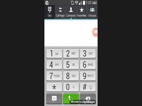 Android TracFone: How to add Contacts