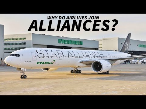 Why do AIRLINES Join ALLIANCES?