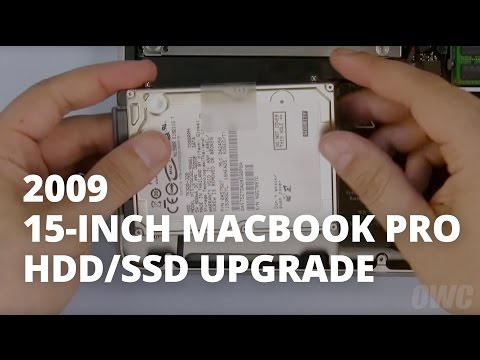 How to Upgrade a 15-inch MacBook Pro (Mid 2009) Hard Drive/SSD