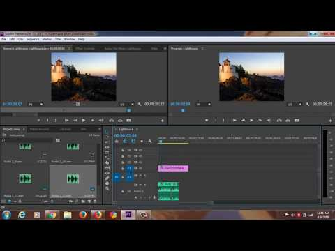 adobe photoshop/Adobe Premiere Pro CS5 Tutorial VIDEOEdit,Voice Recording,Cut and Combine Video Clip
