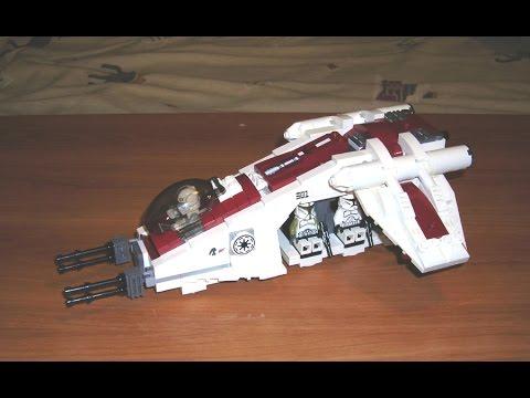 Let's Build! Republic Dropship: Lego Star Wars MOC