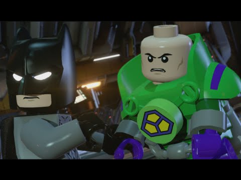 LEGO Batman 3 - 100% Guide #5 - The Big Grapple (All Collectibles - Minikits, Red Brick,etc)