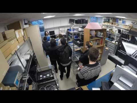 Timelapse of ACMT training in the Brandeis MakerLab