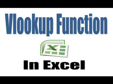 How to Use Vlookup Function in Excel