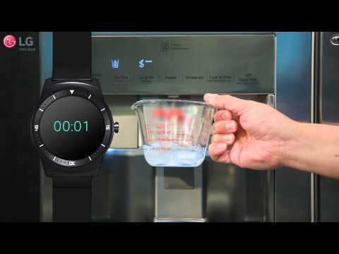 LG Refrigerator-Slow Dispensing Water and Low Ice Production