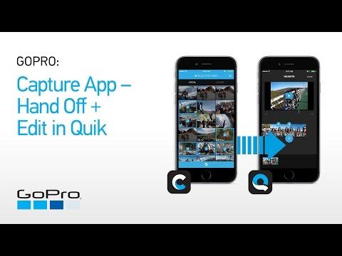 GoPro: Capture App - Handoff + Edit in Quik