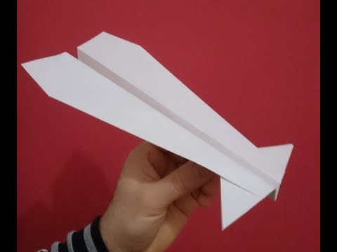 How To Make A Paper Airplane - Best Paper Plane