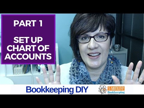 Part 1 - How to set up the chart of accounts in QuickBooks Online