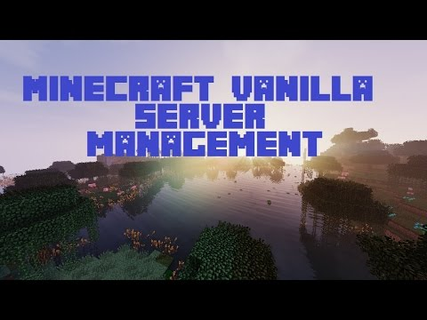 [1.9 & 1.10] Warp Commands in Vanilla Minecraft! | Minecraft Vanilla Server Management