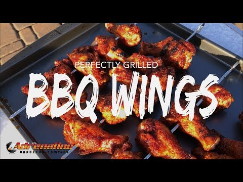 Grilled Chicken Wings - Chicken Wings using the Slow 'N Sear and Weber Kettle