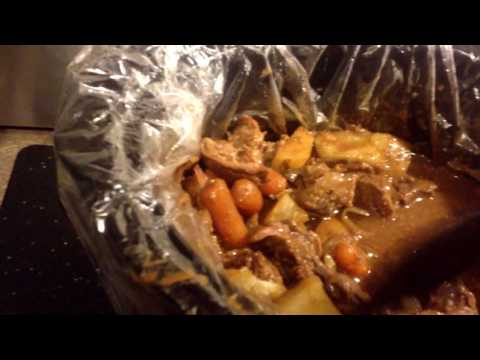 Sirloin Beef cooked in crock pot 😋