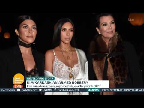 Kim Kardashian's Steve Stanulis  Defends Pascal Duvier After Armed Robbery   Good Morning Britain
