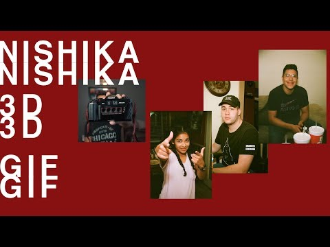 Nishika N8000 3D GIF tutorial (Mura Masa Effect)