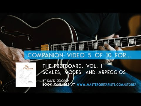 Part 5 of 10: Tutorial for THE FRETBOARD, VOL 1. by David DeLoach