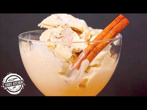 No Churn Cinnamon Ice Cream - 3 Ingredient Recipe