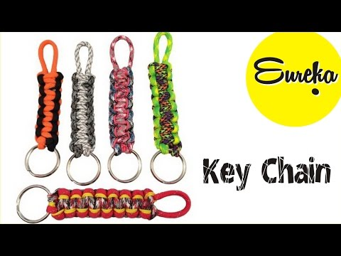 Make your own keychain Easy !! Craft gift / Homemade / DIY