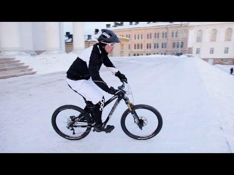 Winter Biking in Helsinki - FINLAND