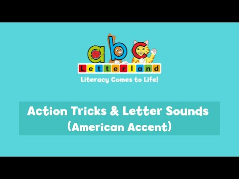 Letterland Action Tricks and Letter Sounds (American accent)