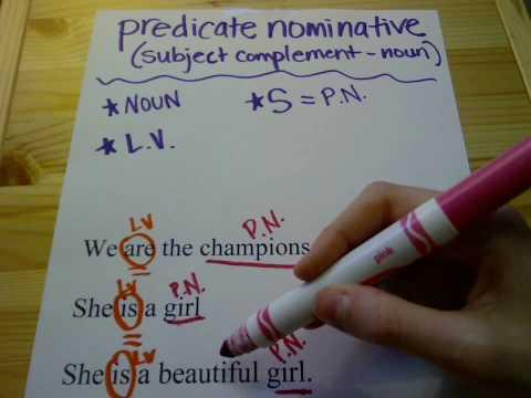 ivySTAR tutoring - GRAMMAR - Predicate Nominative