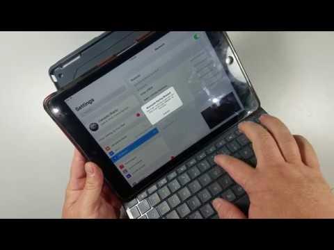 How to Sync Logitech Slim Keyboard Folio with iPad