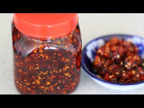 SWEET CHILI JAM Recipe - TƯƠNG ỚT SA TẾ