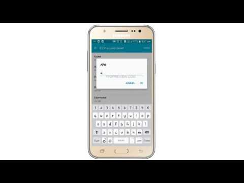 Airtel 2G 3G 4G LTE APN Internet settings for Samsung Galaxy J7- Create Manually Tutorial