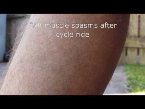 Calf Muscle Spasms After Cycling