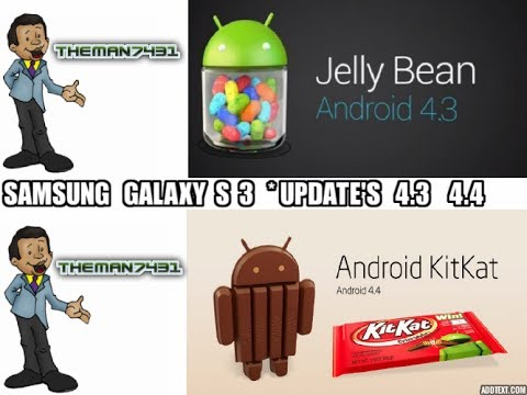SAMSUNG GALAXY S3 ANDROID 4.3 TO 4.4 UPDATE